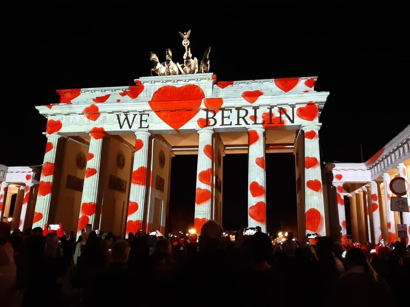 The Brandenburg Gate with Hearts