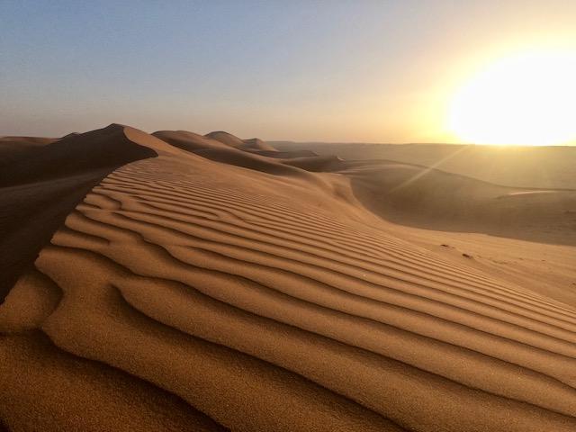 Wahiba Sands Oman Desert
